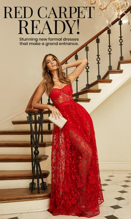 Meet our Red Carpet Ready Dresses from Windsor