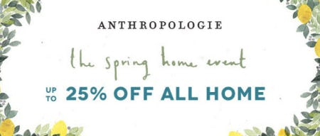 c443c3e97e32f Up to 25% Off All Home from Anthropologie