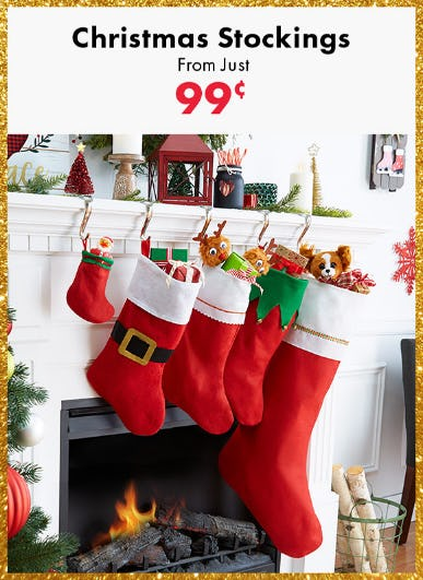 Christmas Stockings From Just $.99 from Party City