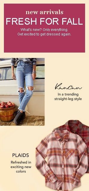 Fresh for Fall from maurices