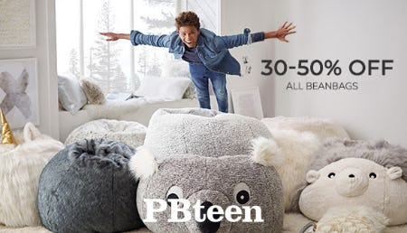 30-50% Off on All Beanbags from Pottery Barn Kids