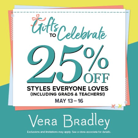 Gifts to Celebrate from Vera Bradley