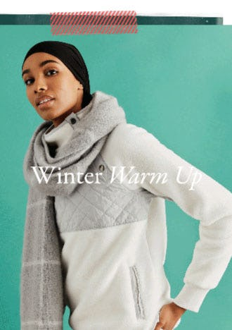 Winter Warm Up from Abercrombie & Fitch