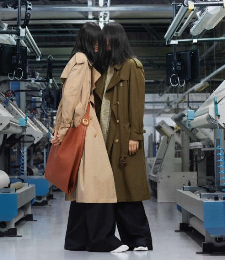 Our New Trench Coat from Burberry