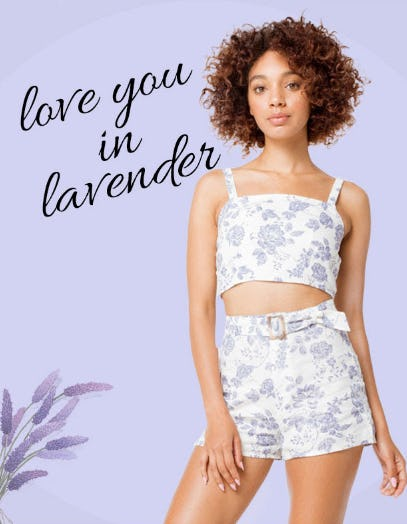 Love You in Lavender from Tillys