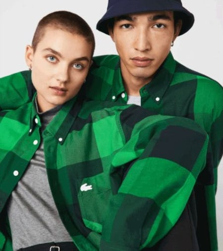 New Collection:  FW21 Unisex Style from Lacoste