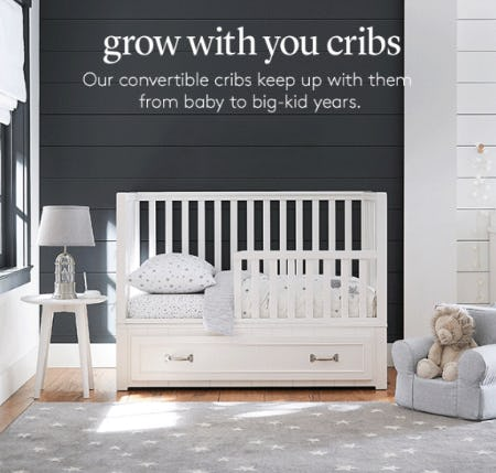 Convertible Cribs from Pottery Barn Kids