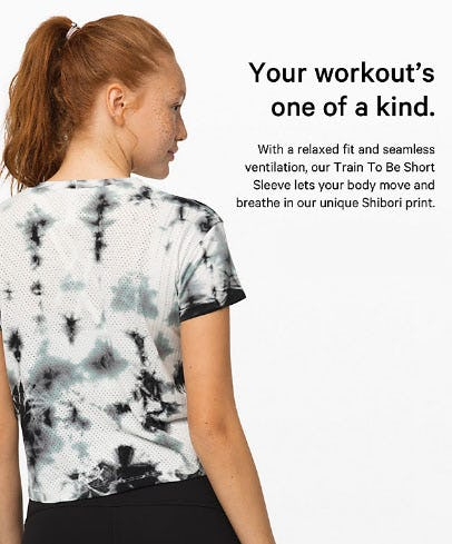 Shibori Is Back For Our Latest Gear from lululemon