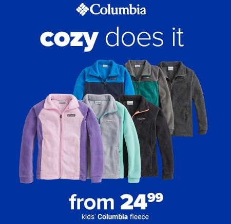 Kids' Columbia Fleece From $24.99 from Belk