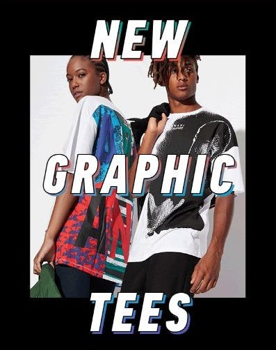 New Tee Drop from A|X Armani Exchange