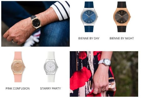New Swatch Essentials for your Wrist from Swatch