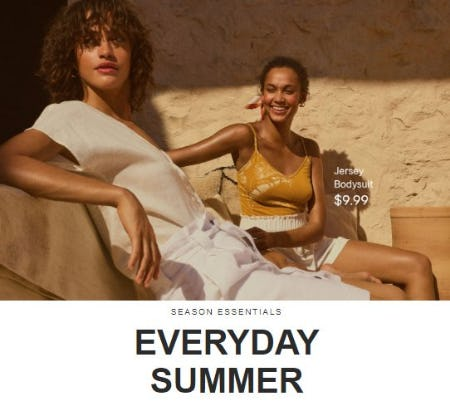 Summer Crush: Everyday Wear from H&M
