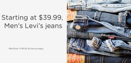 Men's Levi's Jeans Starting at $39.99