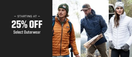 Starting at 25% Off Select Outerwear from Dick's Sporting Goods