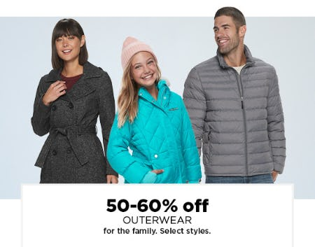 50-60% Off Outerwear from Kohl's