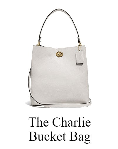 The Charlie Bucket Bag from Coach