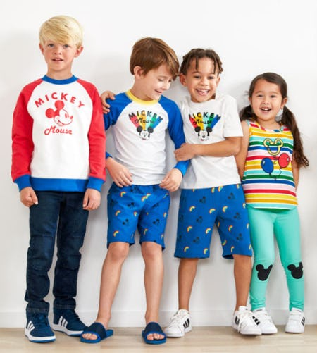 Exclusive Disney Mickey Mouse Collection from Hanna Andersson