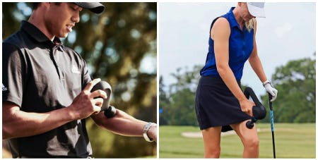 Theragun Mini and Elite Percussive Therapy Devices from Golf Galaxy