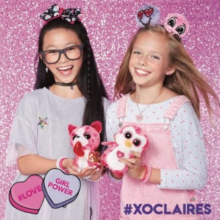 Valentine's Day Gifts Available at Claire's! from Claire's