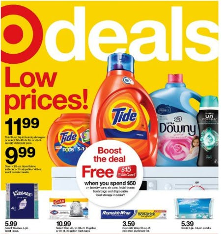 Weekly Specials from Target