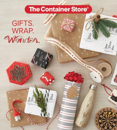 Gift Wrap Wonderland