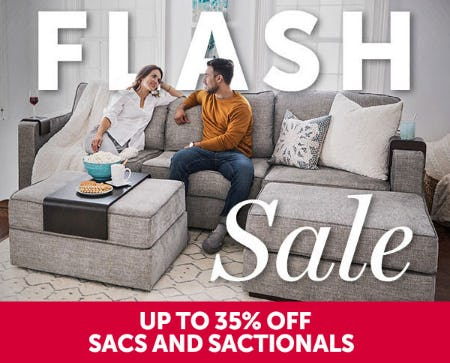 Flash Sale Up to 35% Off from Lovesac Designed For Life Furniture Co