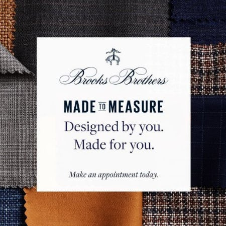 Made to Measure from Brooks Brothers