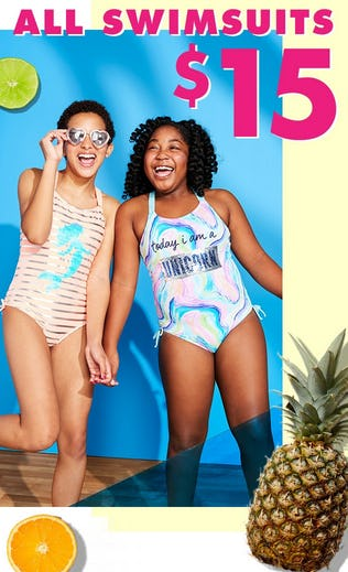 $15 All Swimsuits