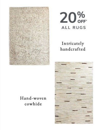 20% Off All Rugs from Pier 1 Imports
