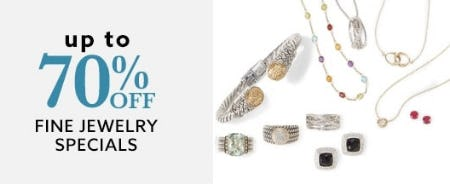 Up to 70% Off Fine Jewelry Specials from Lord & Taylor