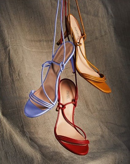We're Loving: Barely There Sandals from Barneys New York