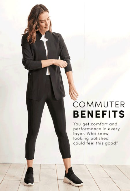 Commuter Benefits from Athleta
