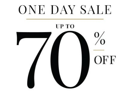 One Day Sale up to 70% Off from Jos. A. Bank