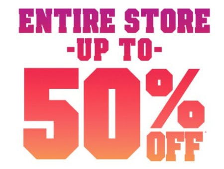 Entire Store up to 50% Off from The Children's Place