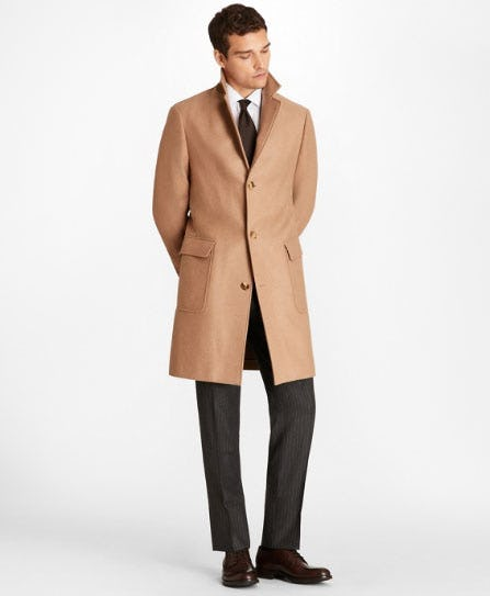 Camel Hair Polo Coat from Brooks Brothers