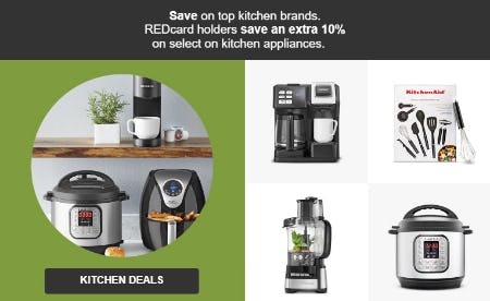 Save an Extra 10% on Kitchen Deals from Target