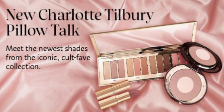 New Charlotte Tilbury Pillow Talk from SEPHORA