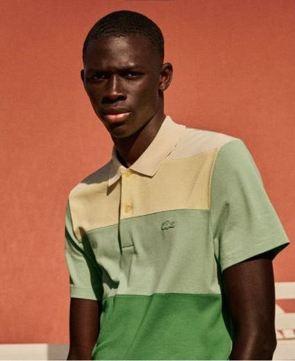 New Summer Stripes from Lacoste