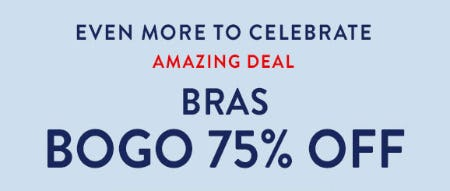 Amazing Deal: Buy 1, Get 1 75% Off Bras from Catherines Plus Sizes