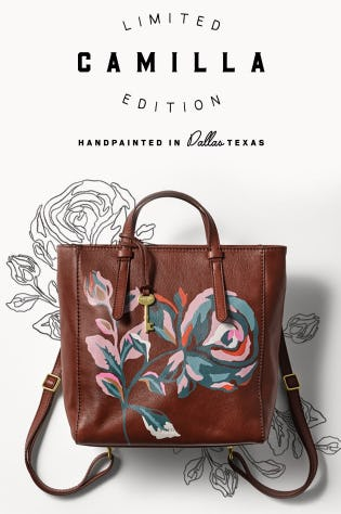 Our Limited Edition Camilla from Fossil