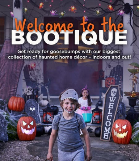 Welcome to The Bootique from Michaels