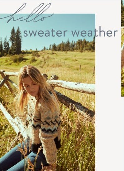 New Sweaters to Love