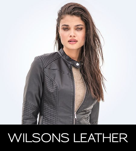 Clearance Event! 50% Off Select Styles from Wilsons Leather