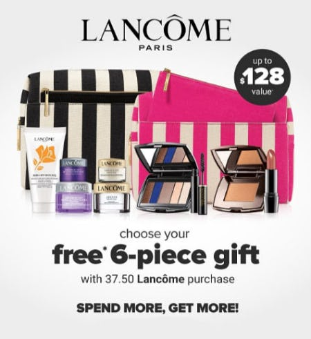 Free Gift with $37.50 Lancome Purchase from Belk