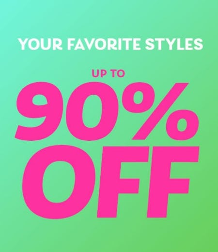 Up to 90% Off Your Favorite Styles from Shiekh Shoes