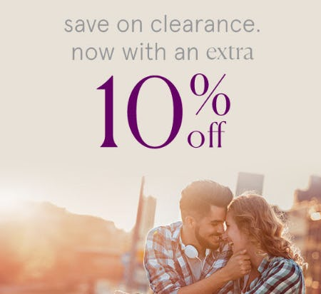 Extra 10% Off Clearance from Kay Jewelers
