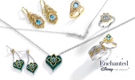 Jewelry Inspired by Disney's Aladdin from Littman Jewelers