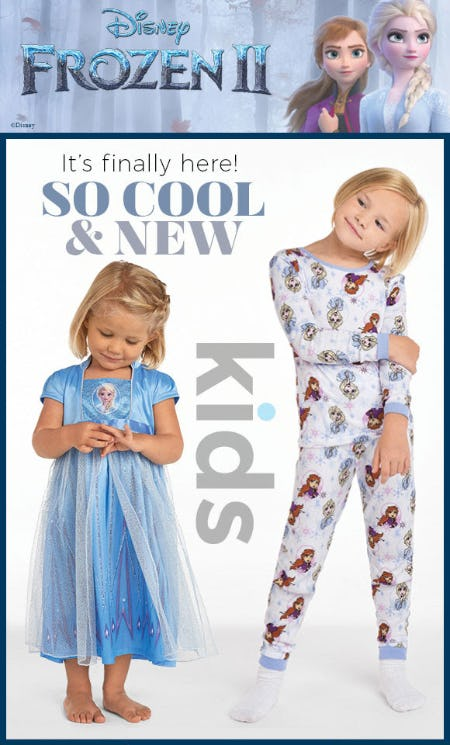 New Arrivals Featuring Disney's Frozen 2