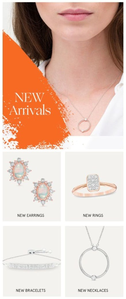 New Arrivals to Fall in Love With from Zales