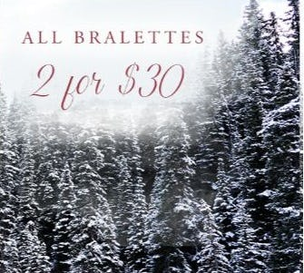 2 for $30 All Bralettes from Altar'd State